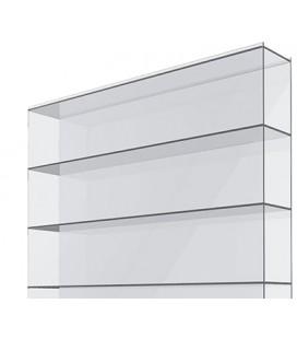 Поликарбонат сотовый 12х2,1х0,008. Solidplast. Цвет: прозрачный. Стандарт.