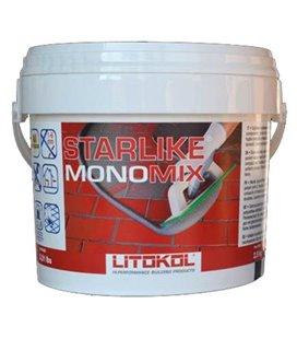 Затирочный состав на основе водной дисперсии полиуретановых смол для затирки швов шириной от 1 до 6 мм Litokol Starlike Monomix