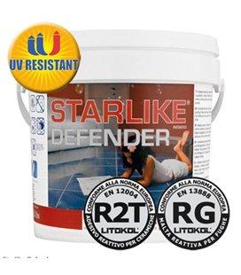 Антибактериальный состав для укладки всех видов плитки, мозаики и затирки швов шириной от 1 до 15 мм Litokol Starlike Defender