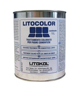 Цветная обработка цементных швов. Для внутреннего и наружного применения. Водо- и маслоотталкивающая Litokol LITOCOLOR