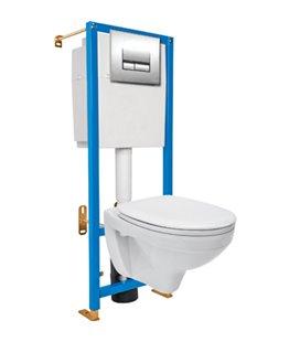 Инсталяция для унитаза без кнопки Cersanit Aqua K97-006