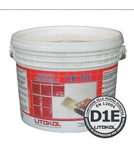 Белый дисперсионный клей с увеличенным временем открытого слоя Litokol ADESIVO UNIVERSALE LK78 (5 кг)