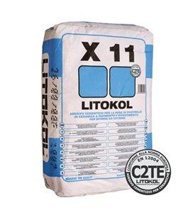 Клей на цементной основе с увеличенным временем открытого слоя Litokol X11