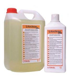 Кислотная чистящая жидкость для очистки напольных и настенных керамических покрытий Litokol LITOCLEAN PLUS (1 кг)