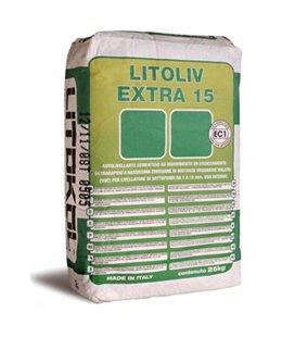 Самовыравнивающий цементный состав быстрого схватывания Litokol LITOLIV EXTRA 15
