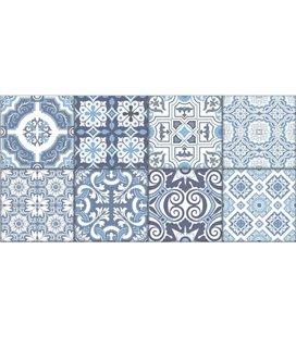 Плитка Almera Ceramica PATCHWORK BLUE (255083)
