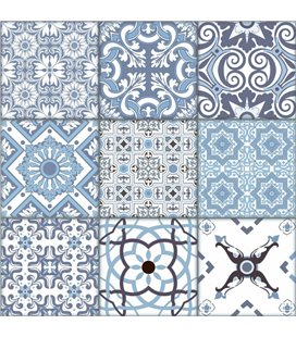 Плитка Almera Ceramica PATCHWORK BLUE (255323)