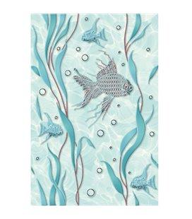 Плитка Cersanit Aqua зефир 1 декор 20х30
