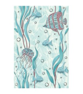 Плитка Cersanit Aqua зефир 2 декор 20х30