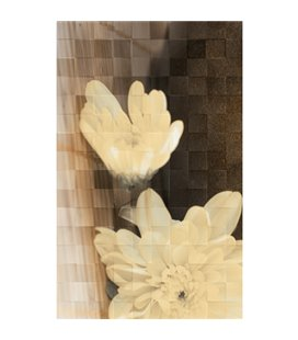 Плитка Golden Tile Bali бежевый декор 411421