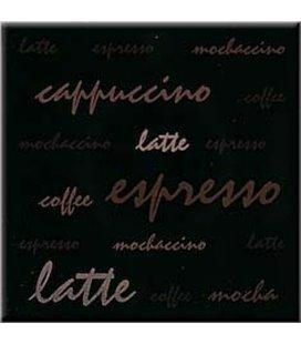 Плитка Opoczno Aplauz эспрессо черный декор