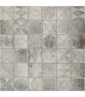 Плитка Cersanit Bristo серый мозаика 45х45