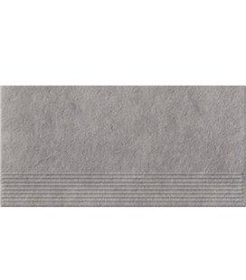Плитка Opoczno Gres Dry river ступенька серый 29,55X59,4