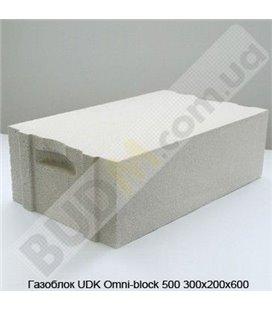 Газоблок UDK Omni-block 500 300х200х600