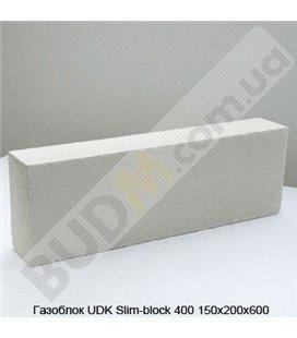 Газоблок UDK Slim-block 400 150х200х600