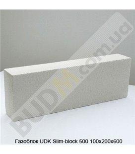 Газоблок UDK Slim-block 500 100х200х600