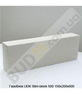 Газоблок UDK Slim-block 500 150х200х600