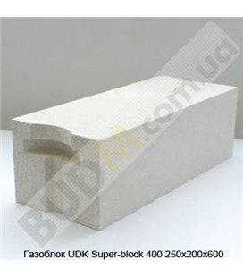 Газоблок UDK Super-block 400 250х200х600