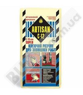 Клей для наружных работ Artisan C-12 Super (25кг)