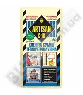 Клей для теплоужерживающей плитки Artisan C-18 (25кг)