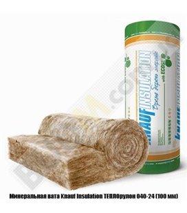 Минеральная вата Knauf Insulation ТЕПЛОрулон 040-24 (100 мм)