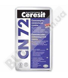 Самовыравнивающаяся смесь для пола Ceresit CN-72 (25кг)