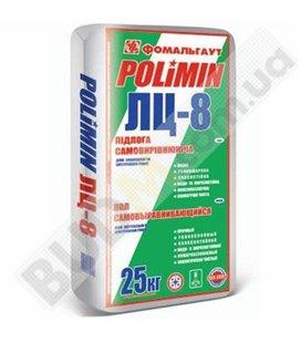 Универсальная самовыравнивающаяся смесь для пола Polimin ЛЦ-8 (25кг)