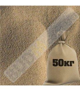 Песок речной (фасованный 50кг)