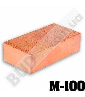 Кирпич рядовой полнотелый М-100