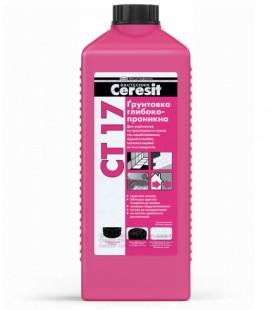 СТ 17 грунтовка глубокопронекающая Ceresit, 2л