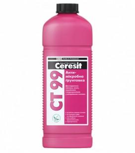 СТ 17 антимикробная грунтовка Ceresit, 1л
