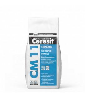 Клей для керамической плитки Ceresit CM 11 Ceramic, 25кг