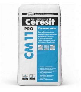 CM 11 Pro клеящая смесь Ceresit, 27 кг
