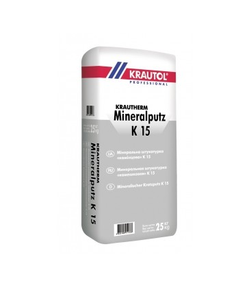 Krautherm Mineralputz K15, 25 кг