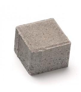 Брусчатка 10х10х8. Цвет: серый.