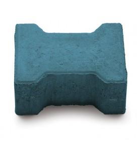Тротуарная плитка Двойное «Т» 20х16х8. Цвет: арктика.