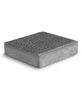 """Тротуарная плитка Ромб """"Фьюжн"""" К-6. Цвет: серый."""