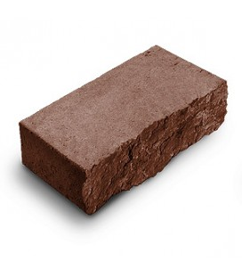 """Фасадный камень """"Рустик"""". Цвет: порфир."""