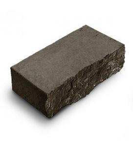 """Фасадный камень """"Рустик"""". Цвет: габро."""
